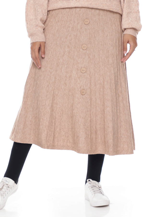 Skirt Carina Button Knit