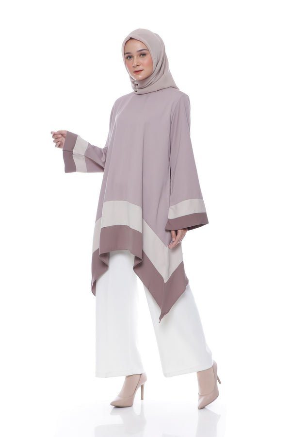 Tunik Azni Purple