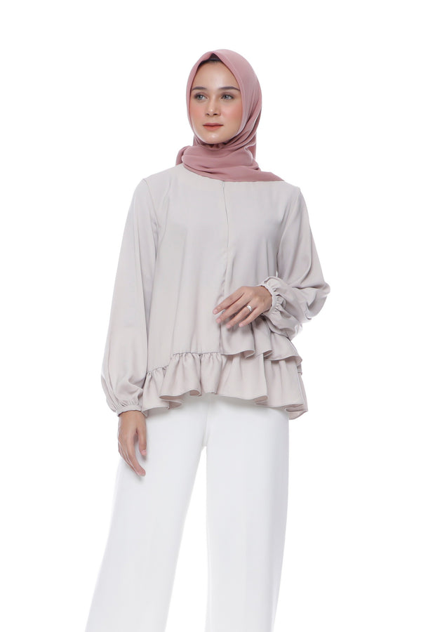 Blouse Zily Busui Cream