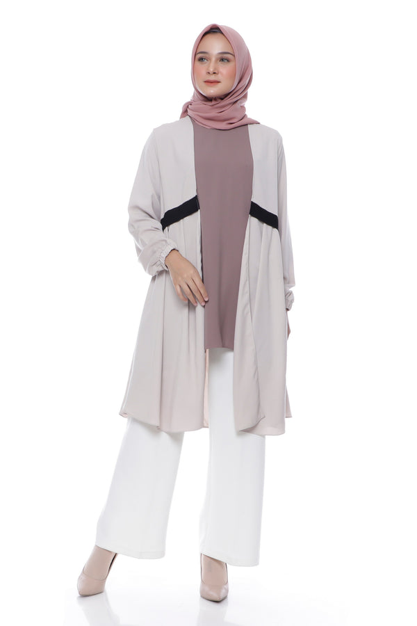 Tunik Lydia Cream