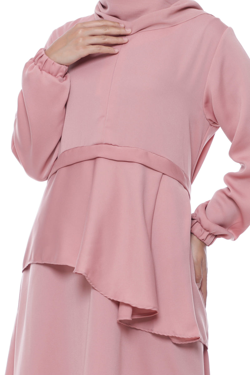 Dress Naisha Busui Dusty Pink