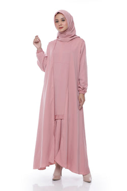 Dress Haida Busui Dusty Pink