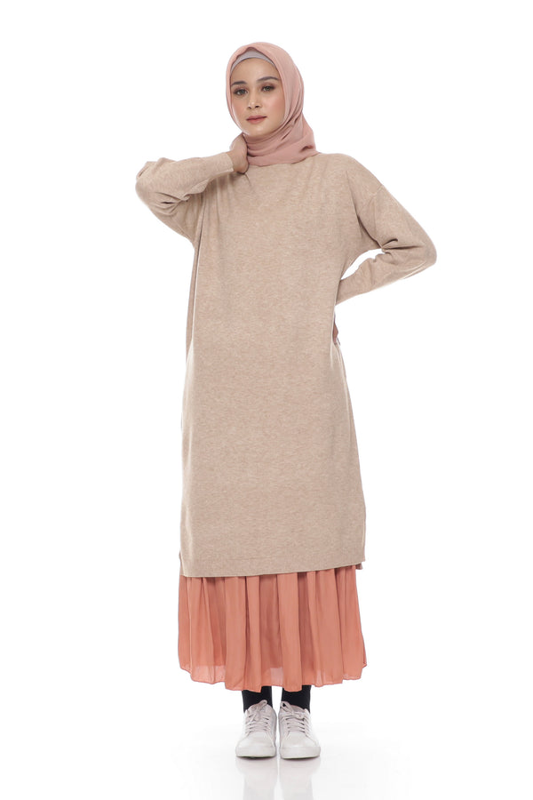 Tunik Kyla Knit Turtle Neck