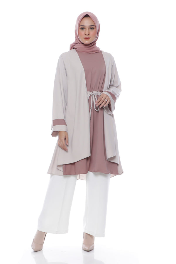 Tunik Azlina Cream