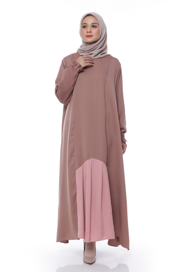 Dress Khansa Choco