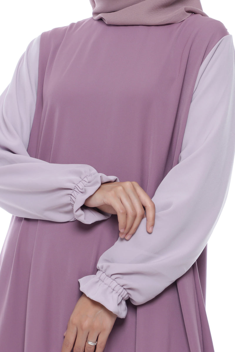 Dress Salena Dark Purple