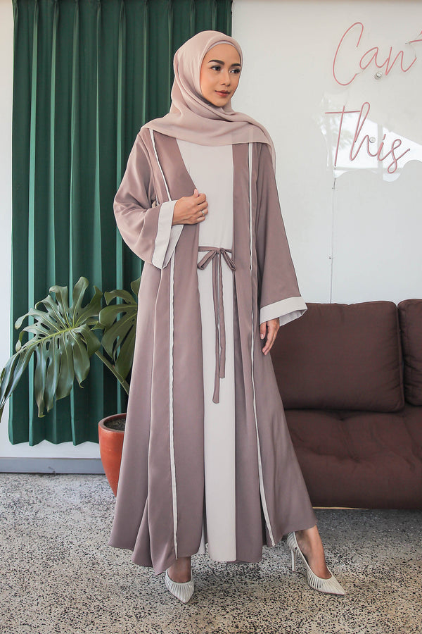 Dress Kamila Brown