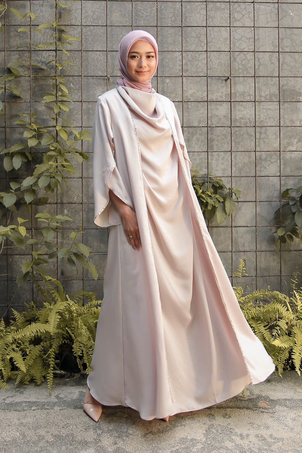 Kaftan Binar Cream