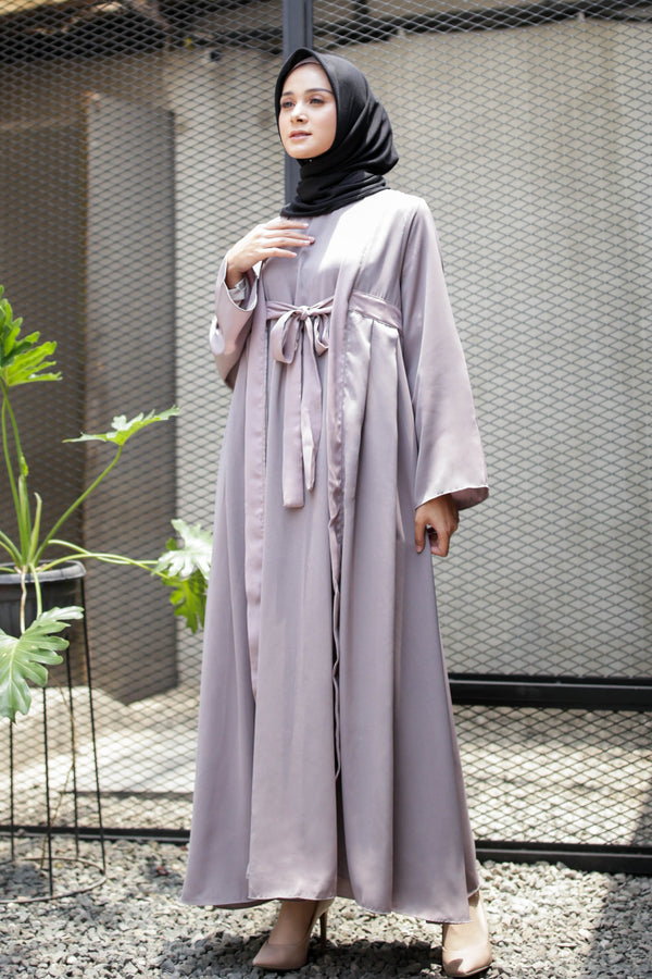 Dress Aruna Line Coffee