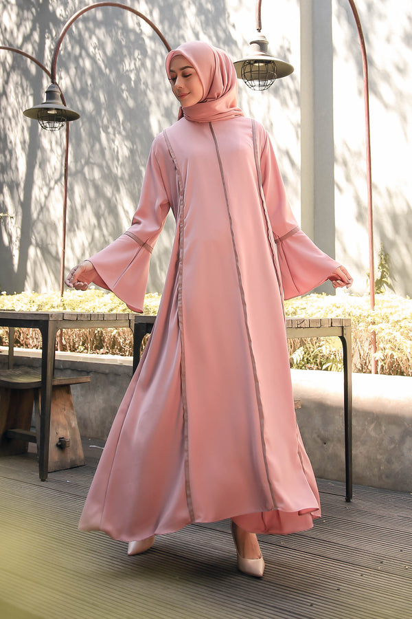 Dress Adella Dusty Pink
