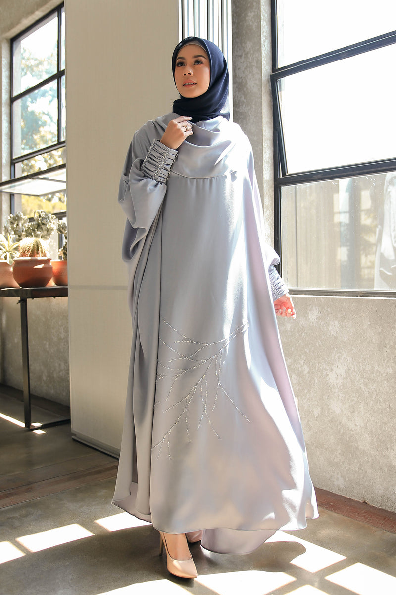 Kaftan Ranting Light Grey