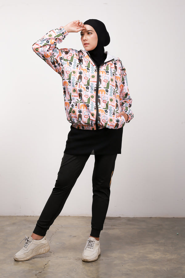 Yucca All Over Print Jacket
