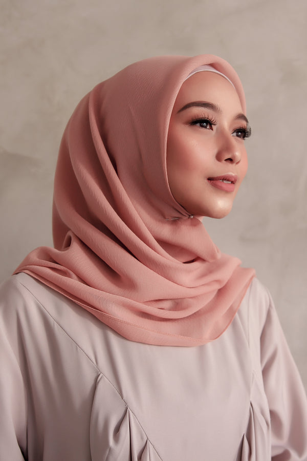 Hijab Square Cornskin Orange