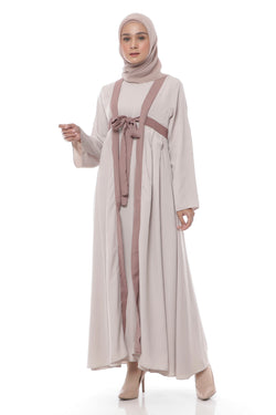 Dress Aruna Line Cream