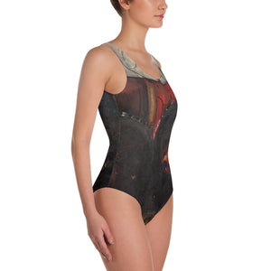 now is the time One-Piece Swimsuit