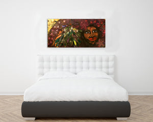see her (Black is Beautiful.)... Original Artwork