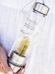 Citrine Crystal Infusion™ Water Bottle