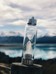 Clear Quartz Crystal Infusion™ Water Bottle