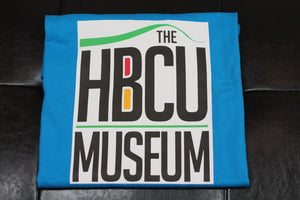 HBCU LOGO T-SHIRT BLUE