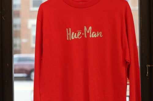 Hue-Man Long Sleeve T-Shirt - CLEARANCE!!!!!(70% OFF)