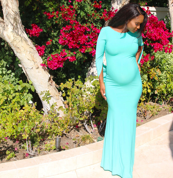 Mint Green Baby shower gown