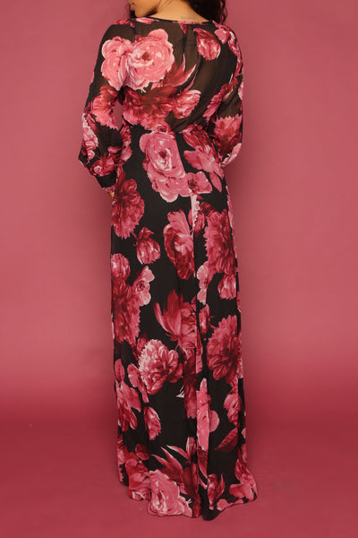 Autumn Wrap Gown