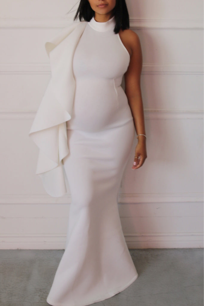 Luxury Maternity Gowns, pregnant bride, gender reveal ...