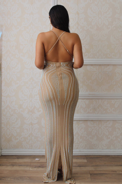 Alanna Studded Gown