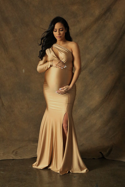 Gold Baby Shower Gown