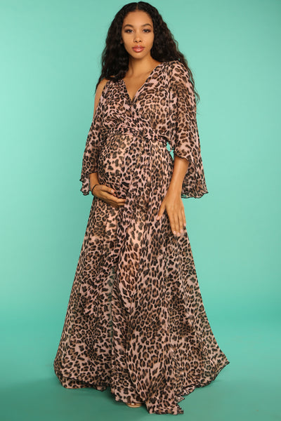 safari babyshower dress