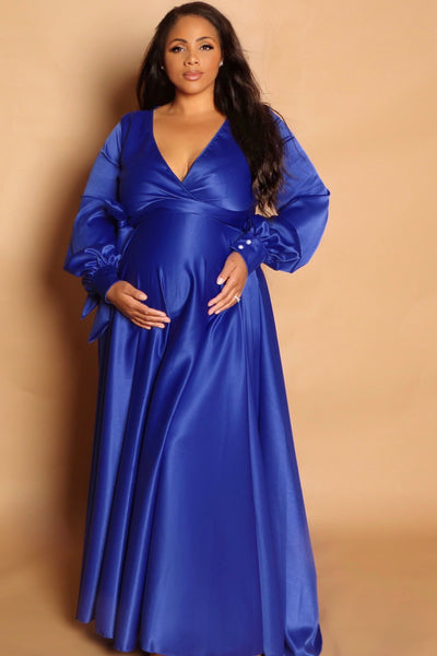 Royal Satin Gown