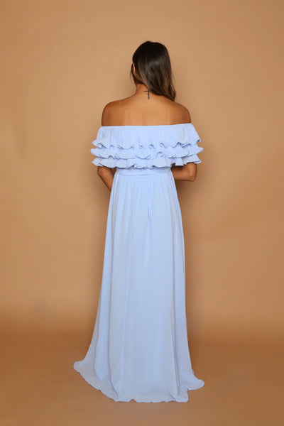 Halle Ruffle Gown - Upto 3XL