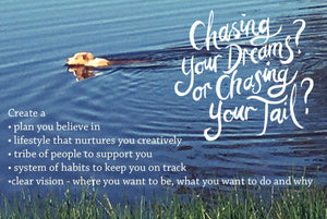Chasing your dream, or chasing your tail?