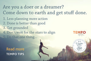 Are you a dreamer or a doer?