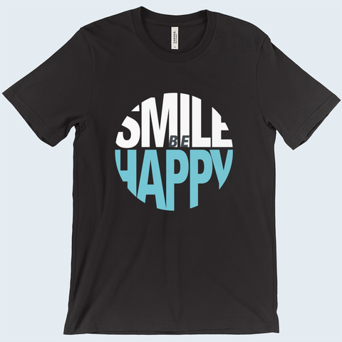 Smile Be Happy Men's T-Shirt