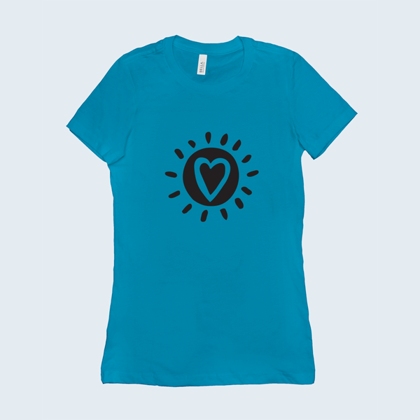 Happy People-Happy World - Ladies T-Shirt