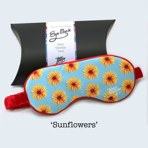 Eye Mask - Sunflowers
