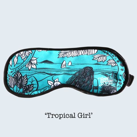 Eye Mask - Tropical Girl