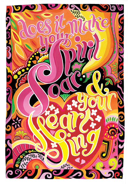 Heart Art - Does it make your Spirit Soar?
