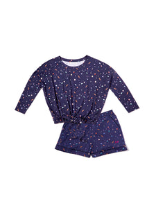 Celestial Lounge Top & Shorts