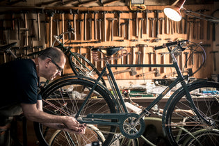 Shane and the Art of Pashley Bicycle Maintenance