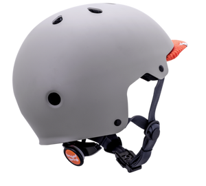 Kali Saha Helmet Matt Grey/Orange