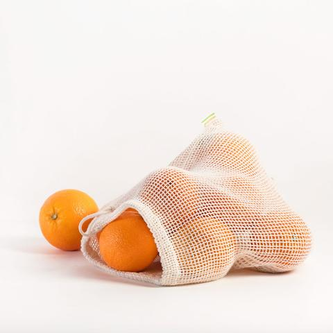 Organic Produce Bags - 3 x Large