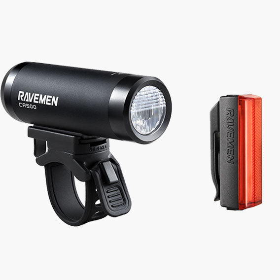 Bicycle Light Set: USB rechargeable