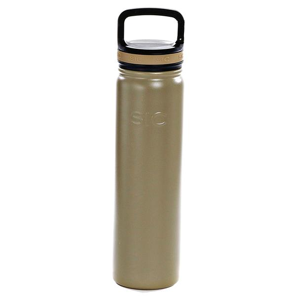 Insulated Bottle 800ml Matte Khaki (with handle lid)