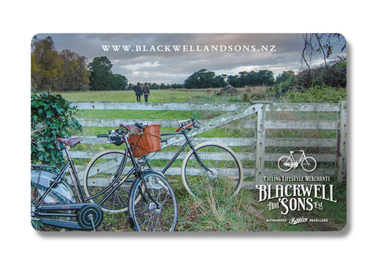 Blackwell and Sons Gift Cards