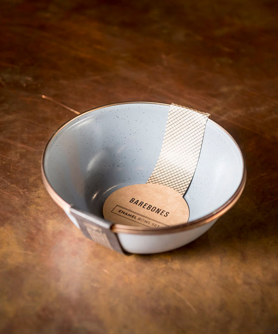 Barebones Enamel Bowl (Set Of 2)