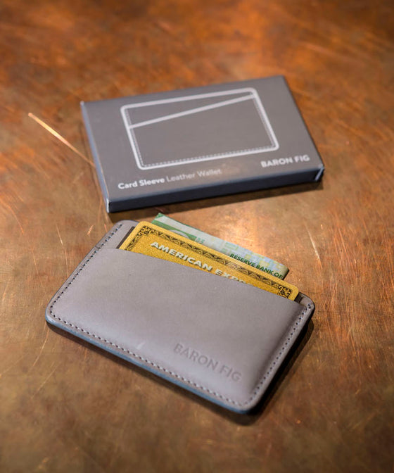 Card Sleeve / Wallet - Grey