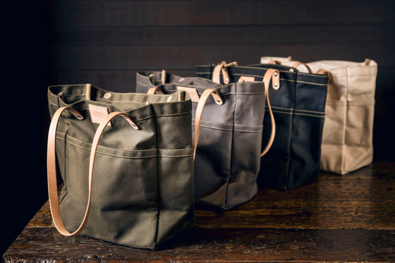 Blackwell & Sons Canvas Tote - Black