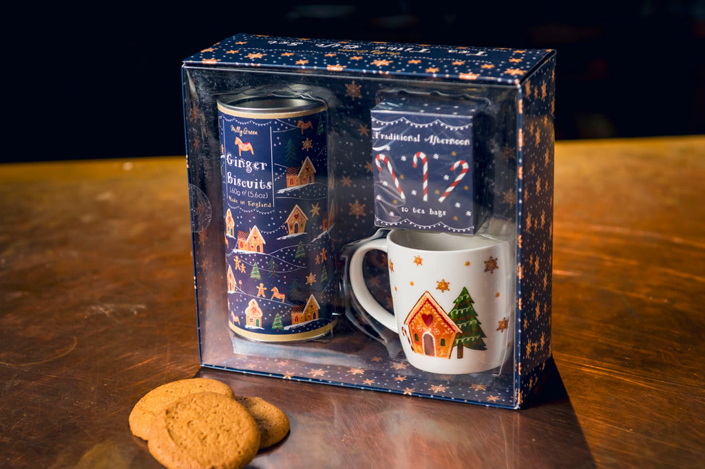 Milly Green Gingerbread Tea Time Gift Set